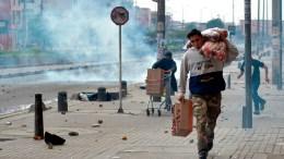 Saqueos en Bogotá