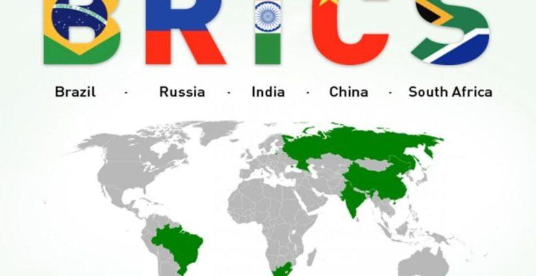 Mapa BRICS