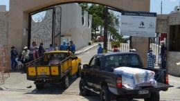Guayaquil puertas de Cementerio donde van las victimas de Coronavirus