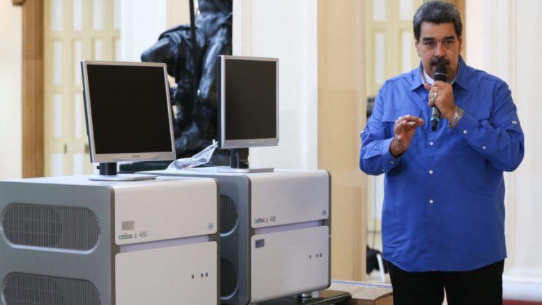Máquinas para el diagnóstico de COVID-19