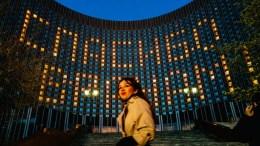 Rusia fachada hotel Kosmos