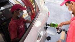 gasolinería en Venezuela