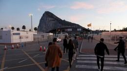 Paso fronterizo en Gibraltar