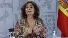 Ministra española María Jesús Montero
