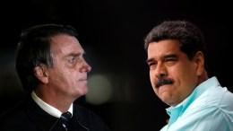 Bolsonaro y Maduro