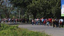 Caravana de migrantes centroamérica