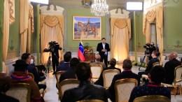 Nicolás Maduro se reune en Miraflores con Parlamentarios invitados