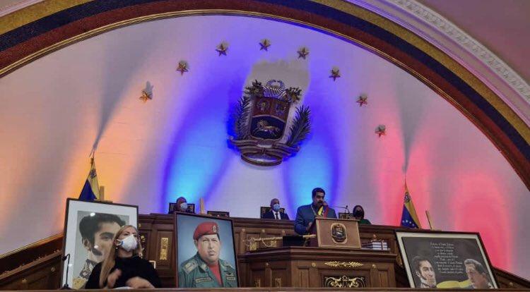 Nicolas Maduro mensaje anual desde la Asamblea Nacional