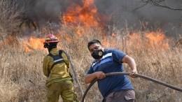 Incendios forestales en Argentina