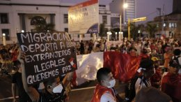 Marcha xenófoba en Lima contra Venezolanos