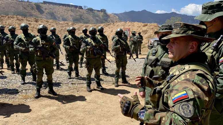 Ejercicios militares FANB