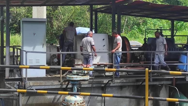 Taguaza estación de bombeo de Hidrocapital