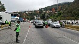 Alcabalas acceso a Caracas