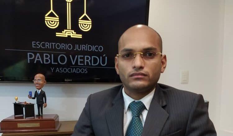 Abogado Pablo Verdú