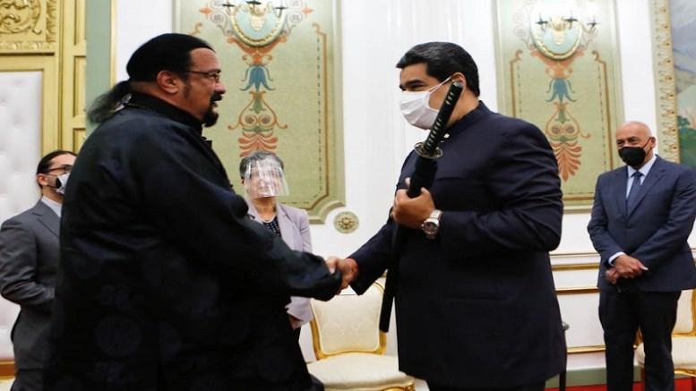 Steven Seagal y Maduro