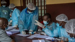Sanitarios en Kigali
