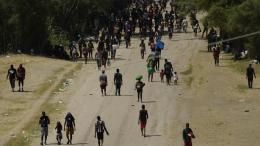 Migrantes en Texas