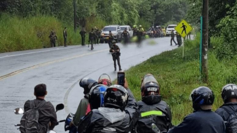 Emboscada deja dos policías muertos en Santader Colombia