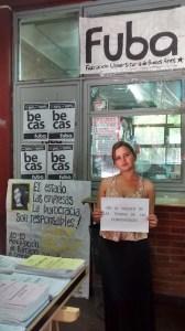 Sabrina Ciarrocchi,  militante de FUBA