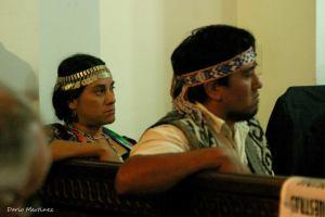 Relmu Ñamku y Martin Maliqueo