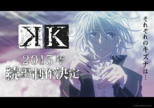 k NAU 300x212 O anime K volta em 2015
