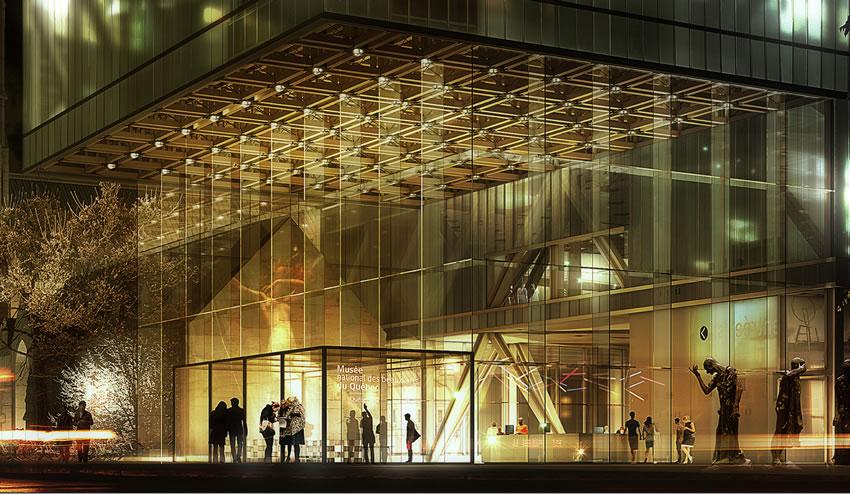 Museo De Bellas Artes De Qubec Canad OMA Rem Koolhaas