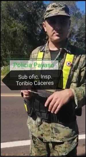 POLICIA PAYASO