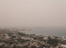 Nube de polvo del Sahara se acerca