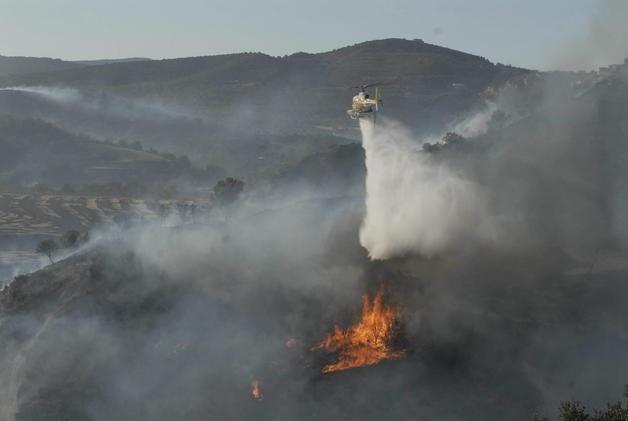 El nuevo concejal, José Carlos Lantarón Pérez, provocó cuatro fuegos que quemaron cinco hectáreas de arbolado y matorral.
