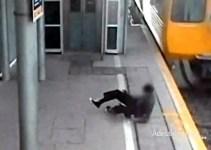 e2514efc12d4fe082fdc20ab2f336dc3 - Adolescente cruzando frente un tren de alta velocidad se salva por muy poco