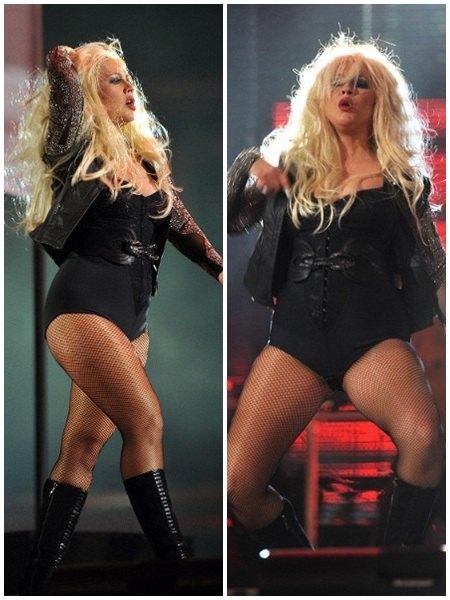 christina aguilera fat october 2011 - Christina Aguilera fuera de control: problemas de peso y alcohol?