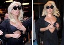 47c7908f410a4c7b8f3a344eff4058f1 - Lady Gaga salió a pasear mostrando más de lo debido