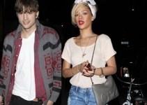 50862d360e6387cee5e1016764b5d36d - Rihanna visitó la casa de Ashton Kutcher de madrugada