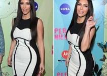 d621c3daa5d1edef10da0c9c846dc4f7 - Kim sigue engordando y casi revienta un vestido