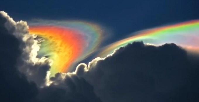 171bb1122232087325633e77820c8e60 - Un extraño arcoíris de fuego sobre el cielo de Florida
