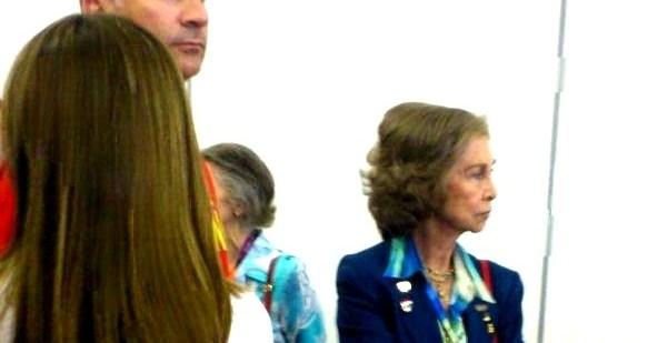 3283e7e644a6217fcd0e7a3b8eae47e6 - Los príncipes y la reina Sofía, expulsados de la zona mixta de los Juegos Olímpicos de Londres 2012