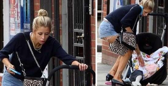 30c159f7039f4f65df10cdb5a5bd4371 - La perlita de una celebridad británica: se le cayó el bebé, ¡y siguió hablando por teléfono!