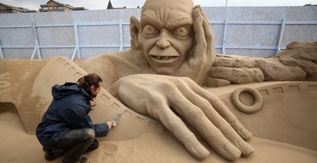 6aacbde6ecec0b18a9466ce52dda7096 - Increíbles esculturas de arena en el Reino Unido