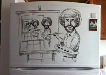 feee942896ea41b2509b40a1c195afac - Charlie Layton y sus dibujos para el frigorífico