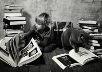 58498ff2e6ae7a2b1a400d430f906736 - Tiernas fotografías de la amistad de una niña y su gata Lilu