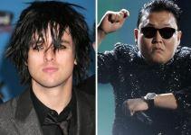 """21a34bac8bb83252b9f9a286e91be29a - El líder de Green Day, furioso con el creador del """"Gangnam Style"""": """"Es el herpes de la música"""""""