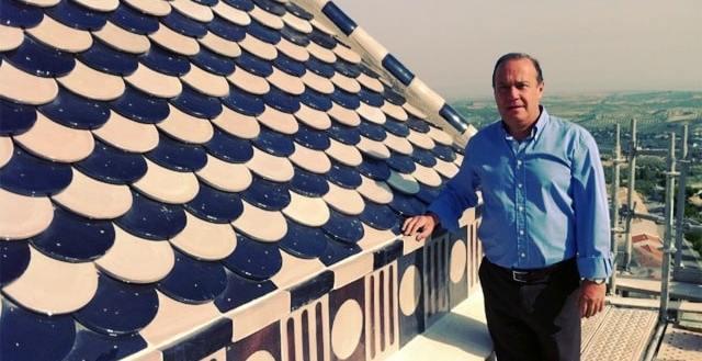 Juan Morillo, alcalde de La Guardia (Jaén). Web municipal