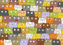 3978cce33d7809a6fd08d0397e61ceb4 - Reto viral: ¿Puedes encontrar al gato entre los búhos?