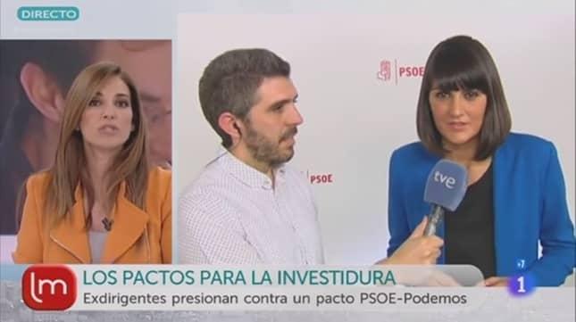 Mariló Montero entrevistando a la diputada María González Veracruz – rtve.es