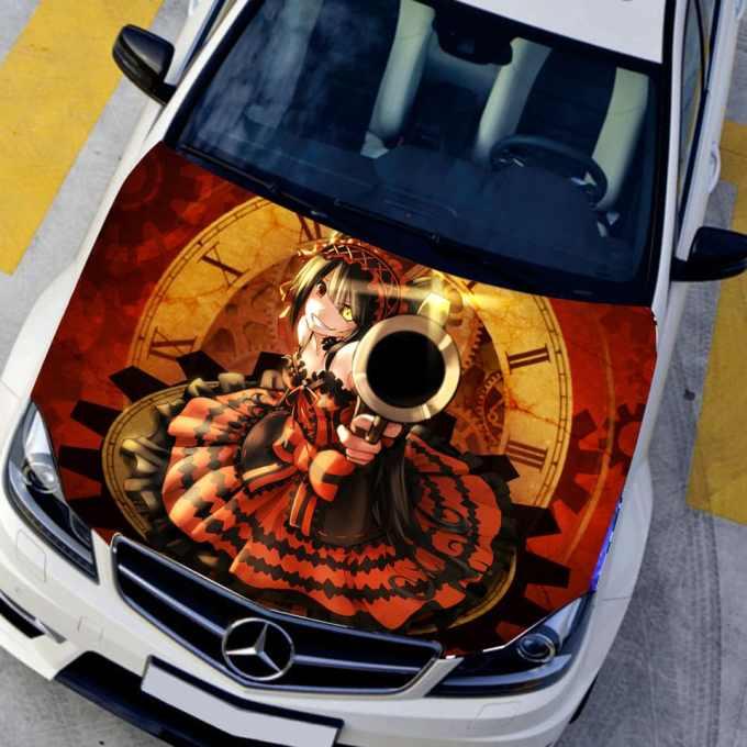"Pegatinas para carro y coche ""Tokisaki Kurumi"""
