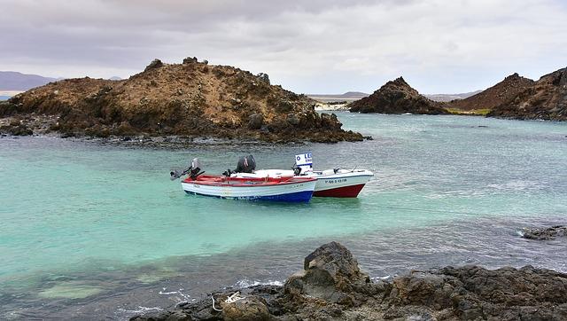Fuerteventura barcos de pesca