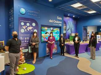 Inauguran Sala Científica de Vida Marina Interactiva