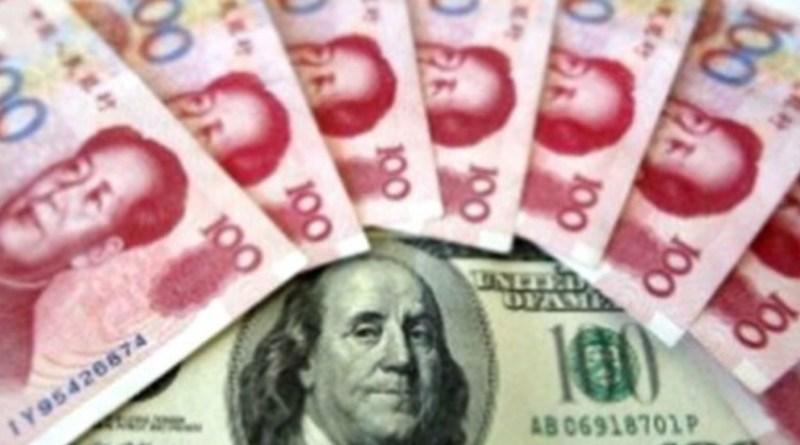 Billetes Yuan, Dólar