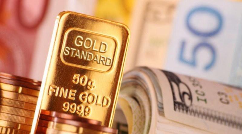 Baja el euro y el oro sube en Londres
