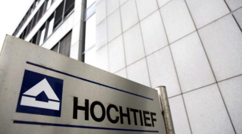 Hochtief la filial de ACS ganó más de 541 millones